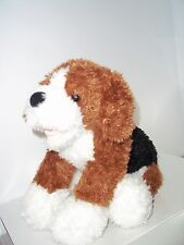 Build a bear workshop beagle puppy plush barking stuffed dog brown wagging tail