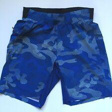 Lululemon T.H.E. Men's Swim Shorts With Liner Blue Size M Medium