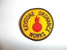 e1198 WW2 US Civilian Keystone Ordnance Works R12A