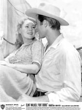 Clint Walker, Virginia Mayo - Fort Dobbs (1958)  -  8 1/2 X 11