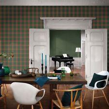 Barbara Becker Tartan Papier peint vert - Rasch 861730