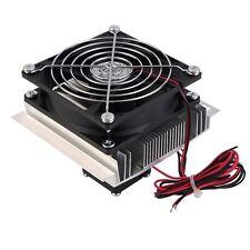Thermoelectric Peltier Refrigeration Cooling Cooler Fan System Heatsink Kit J1