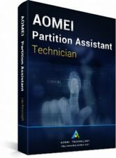 AOMEI Partition Assistant Technician + Free Lifetime Upgrades -Authorised Seller