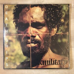 Death Grips Exmilitary Double LP Black Vinyl France Import Limited Edition