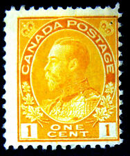 1922 Canada Sc#105 Die I  King George V   Mint F/HR OG
