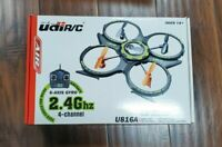UDI-U816A RC UFO Quadcopter 2.4Ghz with 6 Axis Gyro - FOR PARTS