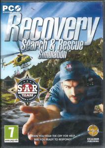 Recovery, Search & Rescue Simulation, SAR Team, PC Simulator Sim Game  NEW