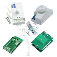 220V DC12V-24V AC 220-240V 5.8GHZ Microwave Radar Sensor Smart Module Switch