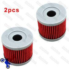 2x Fuel Oil Fiter For Suzuki DR125SM AN400 UX125 UX150 GZ125 LTZ90 UH125 UH200
