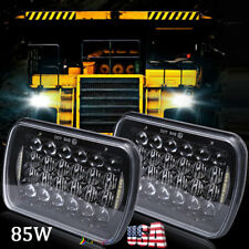 "Pair 5x7"" 7x6"" LED Headlights Bulbs for Chevy Express Cargo Van 1500 2500 3500"
