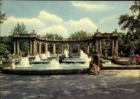 Berlin Ost Hauptstadt DDR Echtfoto-AK 1965 Märchen Brunnen im Friedrichshain
