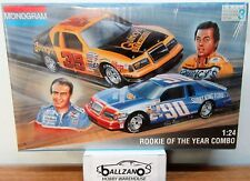 Vintage Monogram 6368 85 thunderbirds Rookie of the year combo model cars 1/24
