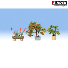 NOCH 14020 H0 Zierpflanzen in Blumenkübeln Laser-Cut ++ NEU & OVP ++