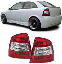 Klarglas Rückleuchten rot klar für Opel Astra G CC 98-05