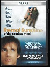 Eternal Sunshine of the Spotless Mind (Dvd, 2004, Widescreen) Jim Carrey