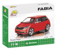 #24570 - Cobi Skoda Fabia - Rot - 1:35
