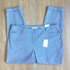 NEW Gerry Weber Trousers 22 Women Grey POCKETS Ladies Casual Office Work RRP £90