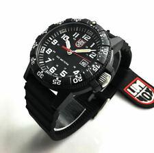 Men's Luminox Leatherback Sea Turtle Black 44mm Watch 0321