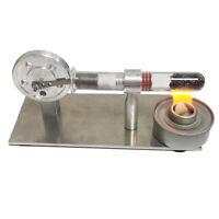 Mini Stirling Engine Mini Generator External Turbine Steam Engine Model Scie W91
