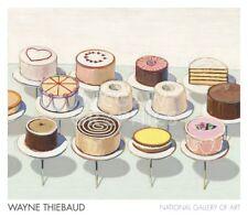 "THIEBAUD WAYNE - CAKES, 1963 - ART PRINT POSTER 28"" X 32""(1639)"