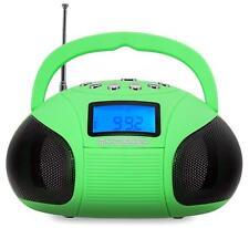 Mini Bluetooth altavoces radio despertador batería Boombox speaker USB SD mp3 reproductor