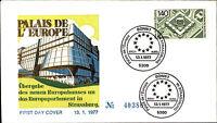 Ersttagsbrief 1977 FDC Stempel Bonn Erstausgabe 140 Pfennig Palais de Europe