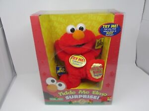 NEW Sesame Street Tickle Me Elmo Surprise! 5th Anniversary Edition Fisher Price