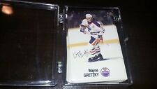 1988-89 Esso NHL All Star Collection WAYNE GRETZKY Auto facsimile