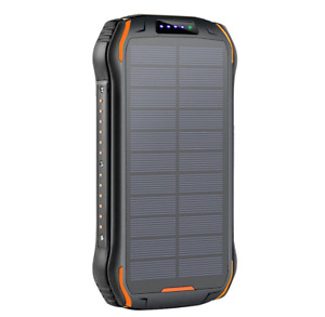 2021 Super 1000000mAh wirelessPortable Charger Solar Power Bank For Cell Phone