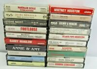 Vintage Lot of 20 Classical Pop Cassette Tapes Whitney Houston Barbara Streisand
