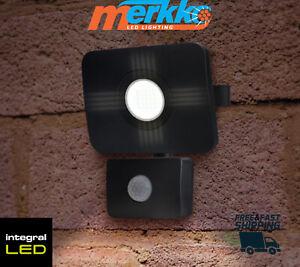 LED Floodlight PIR Sensor with Override Function 20W IP65 Modern Outdoor Garden