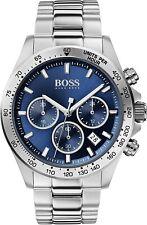 Hugo Boss HB1513755 Hero Sport Lux Chronograph Blue Dial Men's Wrist Watch ~BNIB