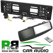 "LEXUS 4.3"" Rear View Reversing Mirror Monitor & Car Number Plate Camera Kit"