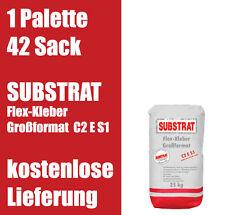 SUBSTRAT Flexkleber Großformat C2 E S1 Fliesenkleber 1Palette 0,93€/kg