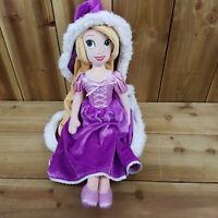 """Disney Plush Rapunzel Princess 20"""" Doll Soft Toy Cape See Description Character"""