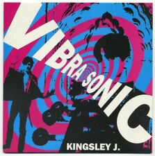 "VIBRASONIC Kingsley J./Blastoff To Splashdown 7"" 1994 Yep! EX+ in EX ps"