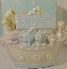 Noah's Ark Menagerie Porcelain Night Light Noah's Ark Baby Night Light Russ New