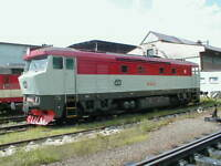 """Ätzmessingbausatz Diesellokomotive """"Badotka"""" BR751 der CSD TT"""