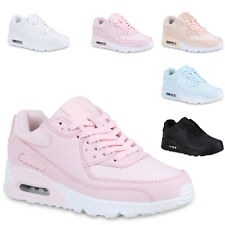 Damen Laufschuhe Glitzer Sportschuhe Profil Sneaker Schuhe 821401 Trendy Neu