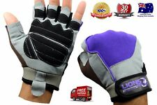 Half Finger Glove Gym  Fitness Weight Lifting Exercise gloves Training Gloves XL