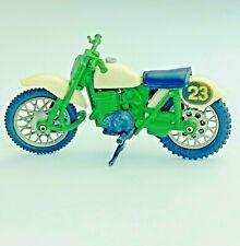 BRITAINS LTD England Vintage Speedway Motorcycle Dirt Race Bike 1970s Green