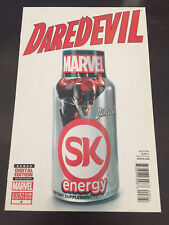 Daredevil #8 2014 Marvel Limited Edition Variant Coverm SK Energy NM 9.4 unread