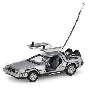 1:24 DeLorean DMC-12 Back to the Future 1 BTTF1 Time Machine Model Car Gift