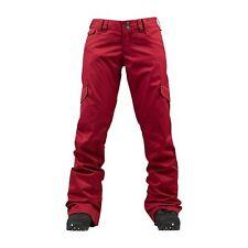 Burton Boom Sticks Snowboard Pant (L) Red Beet