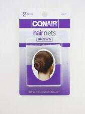 CONAIR BROWN HAIR NETS - 2 PCS. (55577)