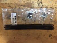 1 New Mavic Crossride Disc Spoke Black 271mm Front /& Rear 995 435 01