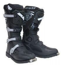 Wulfsport Wulf Adults Track Star MX Motocross Enduro Quad Motor Bike Boots 12/47
