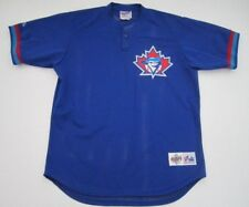 Mens L Toronto Blue Jays Majestic Authentic Diamond Collection jersey VTG rare