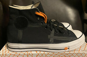 Converse x Rokit Mens Chuck Taylor 70 HI Black White Shoes Size 10.5 NIB 168211C