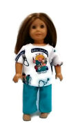 "Scrubs 18"" Doll Clothes fits American Girl dolls Boo-Boos & Stitches"